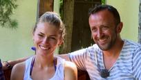 Ondrej Kandráč s manželkou