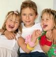 Deti Lucie Hurajovej - dvojičky Izabela a Sofia a syn Maximilián