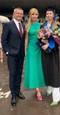 Vilo Rozboril s manželkou Sandrou a jej dcérou Ninou