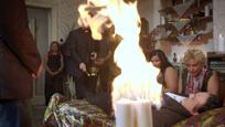 Hrobári - požiar na nakrúcaní