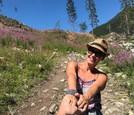 Erika Barkolová si užíva leto v Žiarskej doline v Západných Tatrách