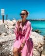 Barbora Krajčírová na exotickej dovolenke