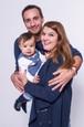 Prázdniny - Nový prírastok - malý Oskar so skutočnými rodičmi