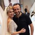Erika Kandráčová v svadobných šatách