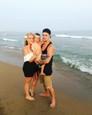Dominika Mirgová s rodinkou na dovolenke v Turecku