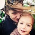 Alexandra Palatínusová s dcérkou
