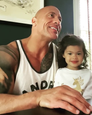 "Dwayne ""The Rock"" Johnson a dcérka Tiana Gia"