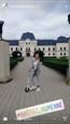 Dominika Richterová s ružovými vlasmi