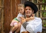 René Štúr s dcérkou Améliou