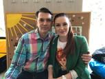 Marek Majeský a Barbora Švidraňová-Bola raz jedna škola