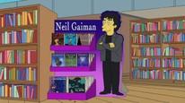 Simpsonovci - Neil Gaiman