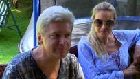 Štefan Skrúcaný s manželkou