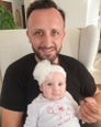Ondrej Kandráč s dcérkou Maruškou