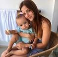 Kulyho manželka so synom
