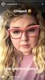 Evelyn s novými okuliarmi