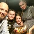 Mária Čírová s rodinou