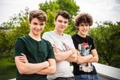 Naši - Max Bolf, Gregor Miler a David Krajčík