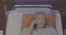 postrelená Dagmar