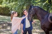 prvé stretnutie s koňom
