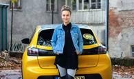 Dominika Kavaschová a Peugeot