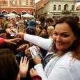 Schudnutá Renáta Názlerová na JOJke v meste v Košiciach