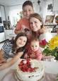 Erika Kandráčová s deťmi