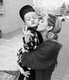 Dominika Mirgová so synom Peťkom
