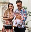 Natália Germáni s partnerom Martinom Valihorom a s dcérkou Zunou