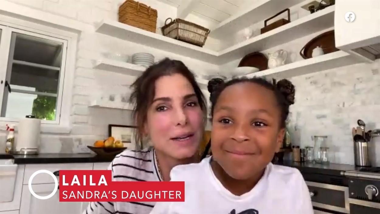 Sandra Bullock s dcérou