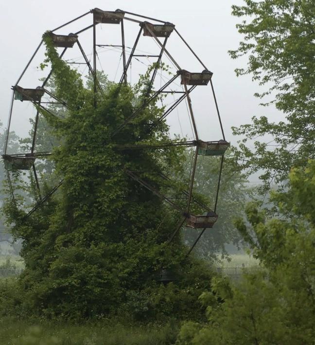 Opustený zábavný park v Nemecku
