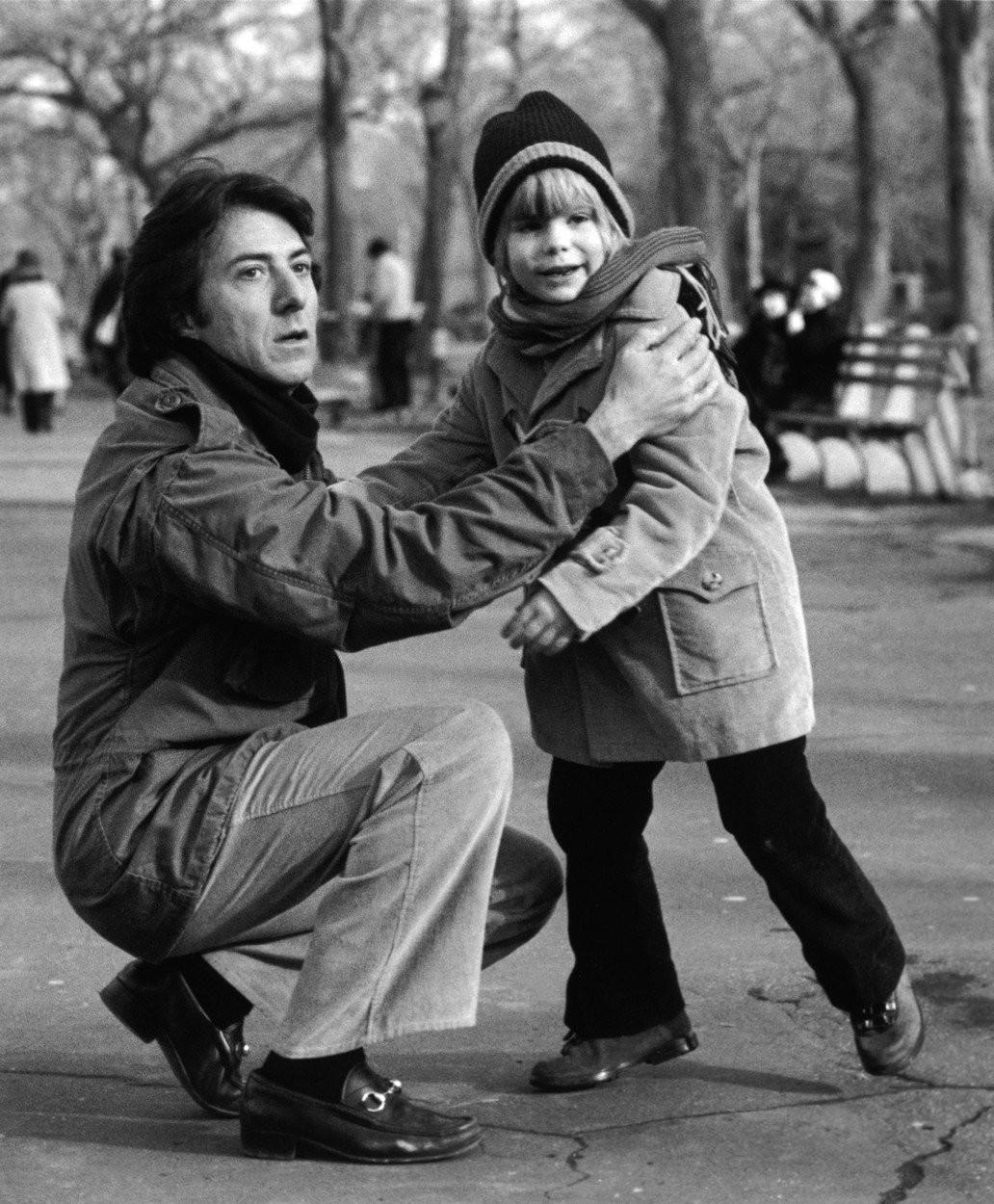 Dustin Hoffman vo filme Kramerova versus Kramer