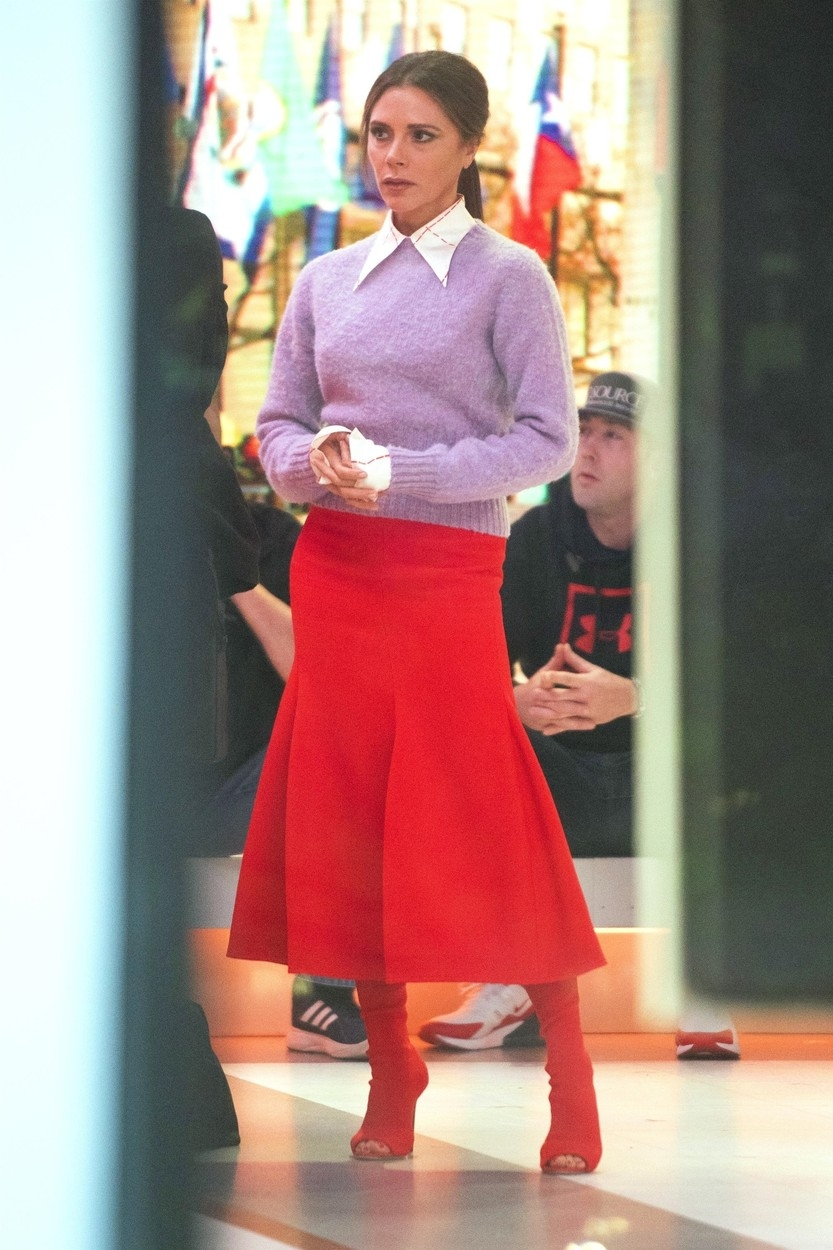 Victoria Beckham, štýlové outfity