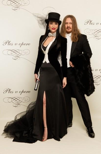 Lucia Hablovičová s návrhárom Borisom Hanečkom