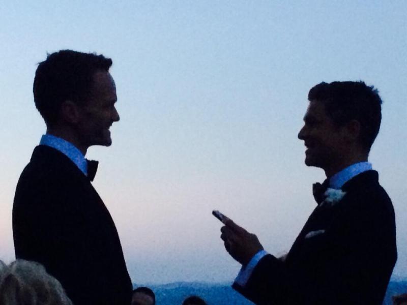 Neil Patrick Harris a David Burtka na prvej svadobnej momentke