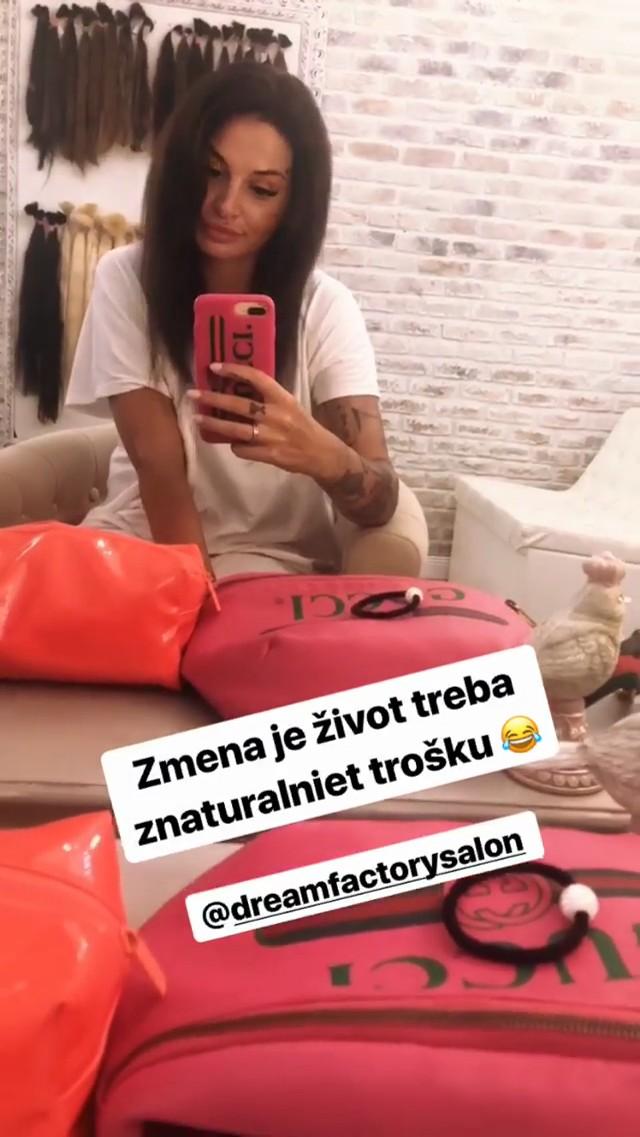 Zuzana Plačková a jej nový zostrih