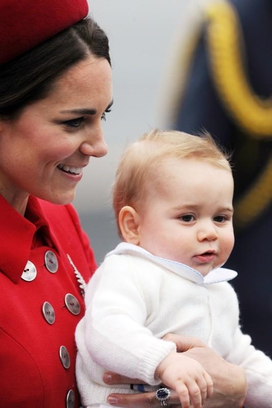 Vojvodkyňa Kate Middleton a princ George