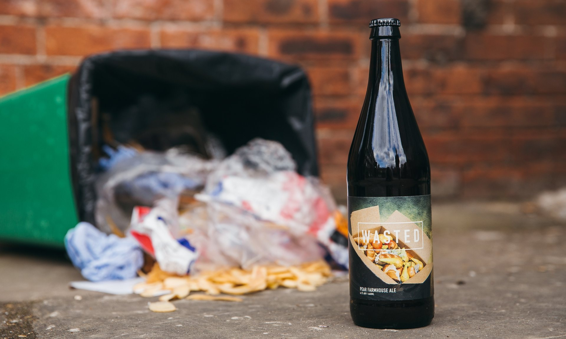 Wasted - prvé pivo bez odpadov.