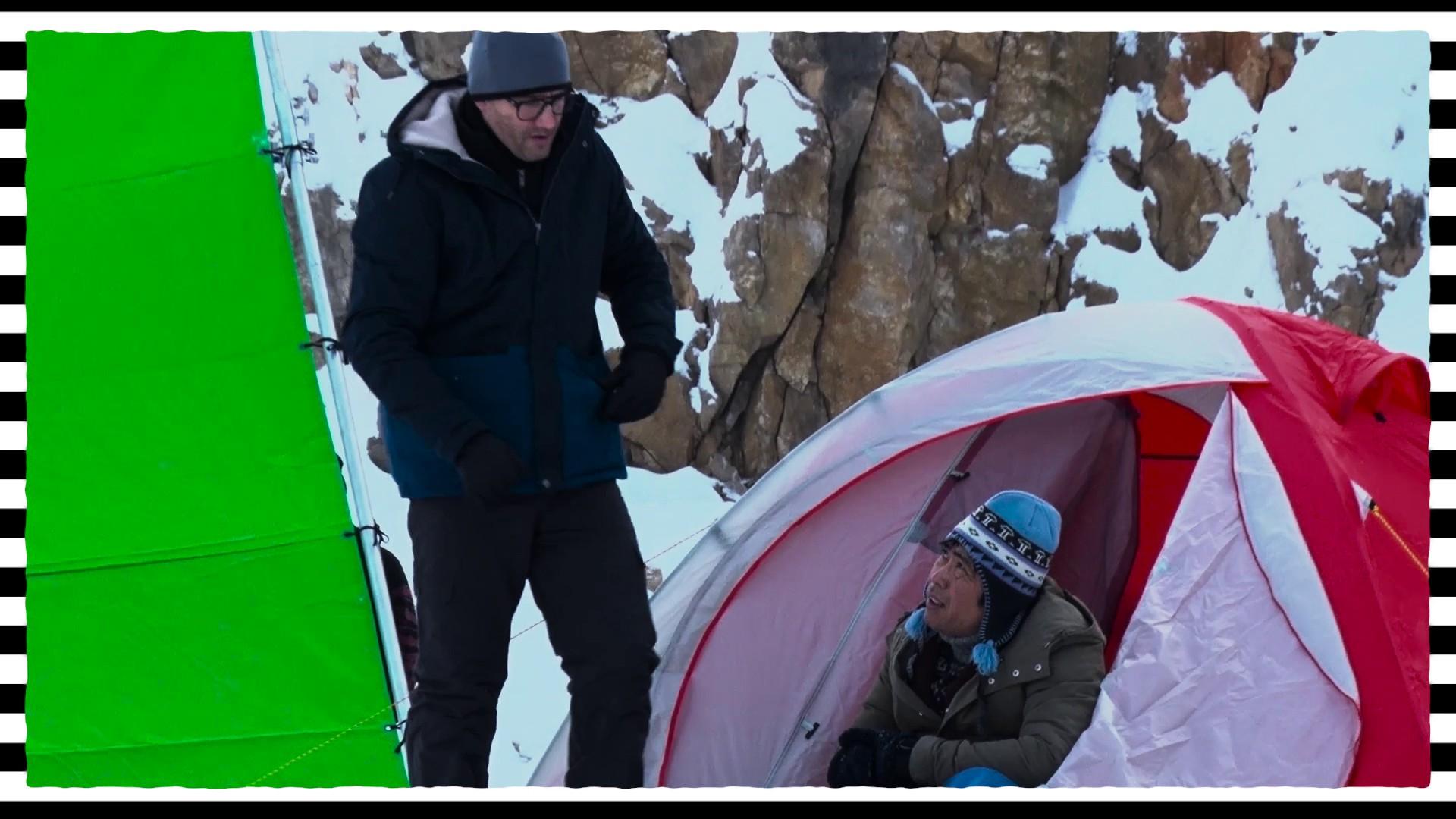 Som mama - Nakrúcanie scény, ktorá sa odohrávala pri Annapurne bolo v skutočnosti na Slovensku