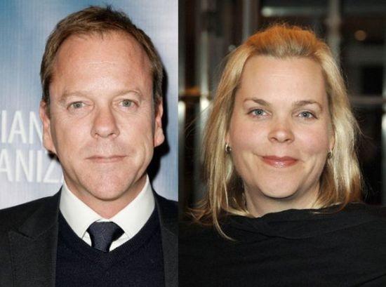 Kiefer Sutherland so sestrou