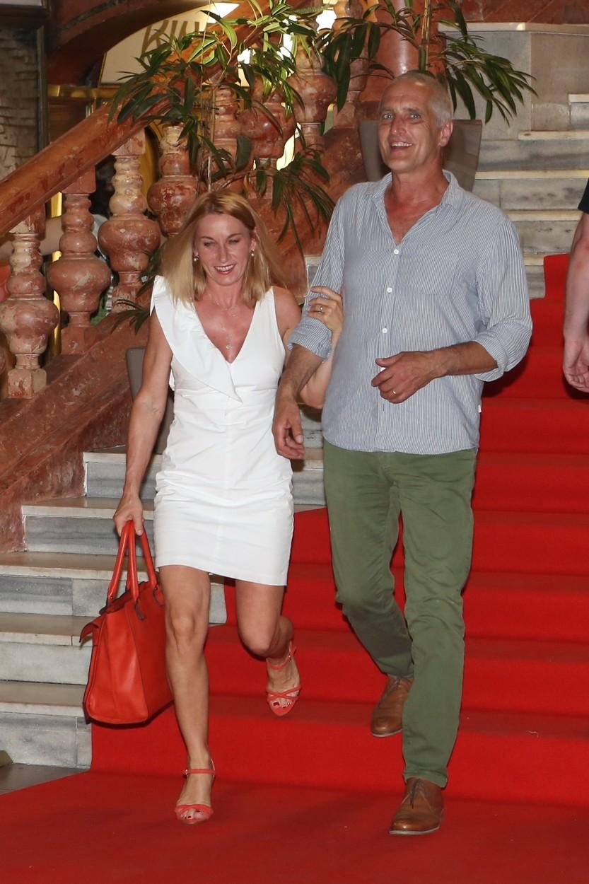 Tomáš Hanák s manželkou Barborou