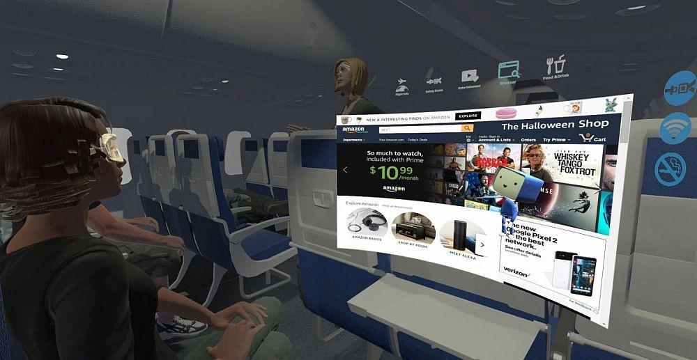 Virtuálna realita v lietadle? Skvelý nápad!