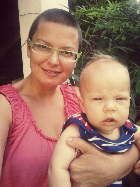 Lujza Garajová Schrameková skončila takmer bez vlasov