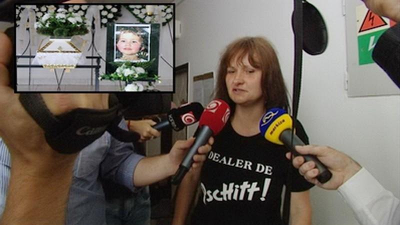 Martina Švecová, matka utopenej Simonky