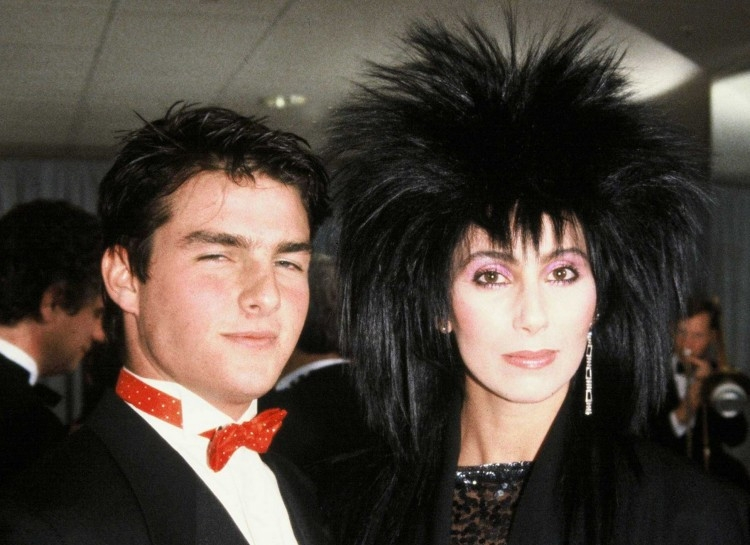 Tom Cruise a Cher