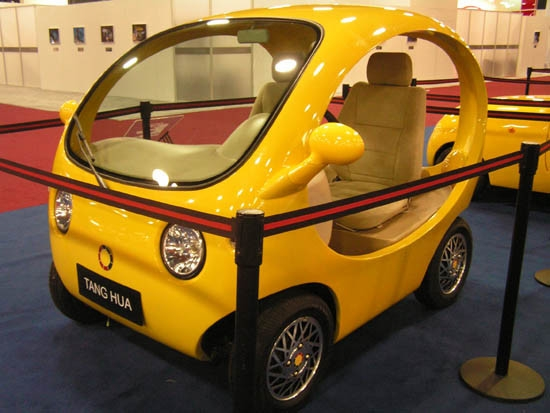 Elektromobil The Book of Songs od Li Shi Guang Ming Automobile Design.