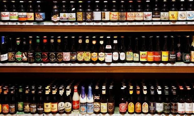Belgicko ponúka až takmer 1 500 druhov pív