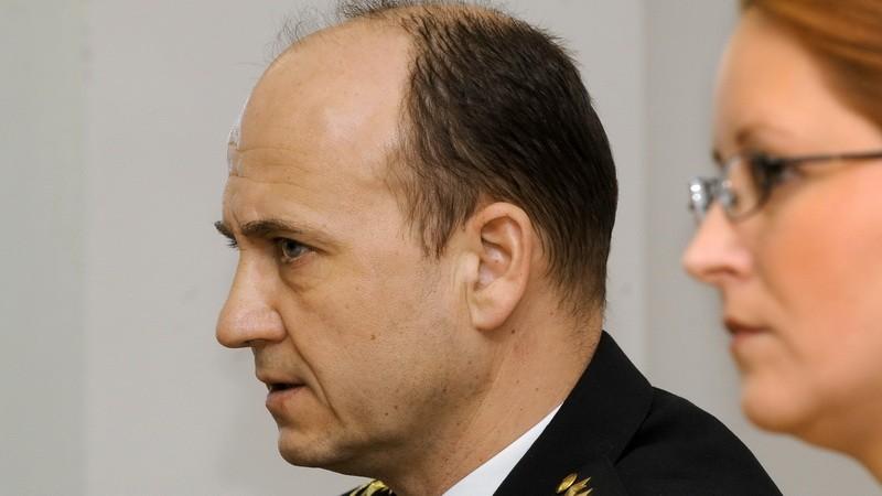 Jaroslav Spišiak na tlačovke_Policajný zbor