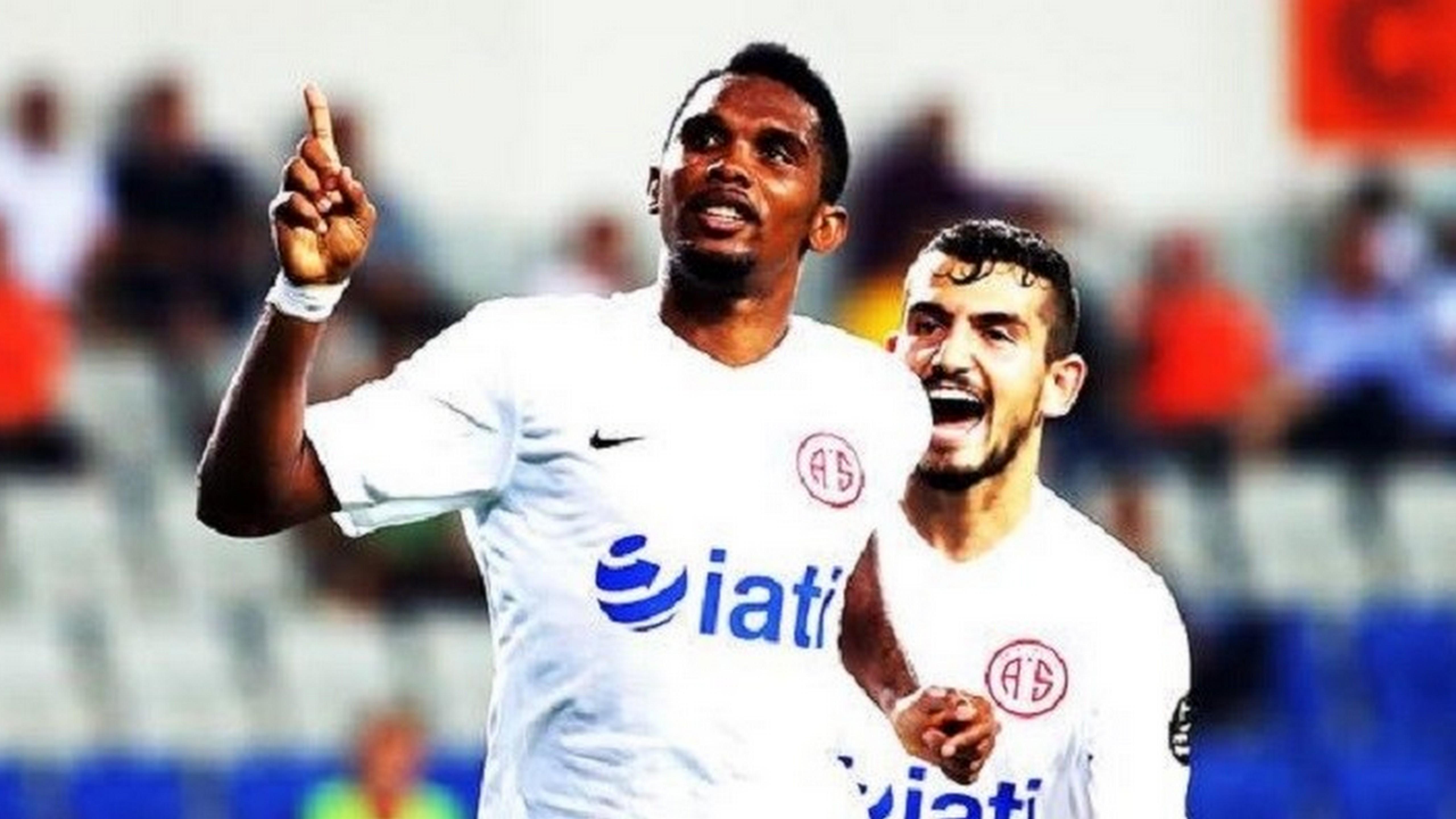Samuel Eto´o radosť Antalyaspor