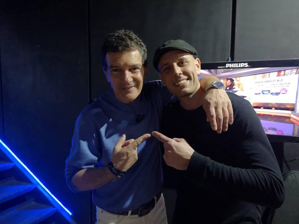 Alex Dowis z Talentu a Antonio Banderas