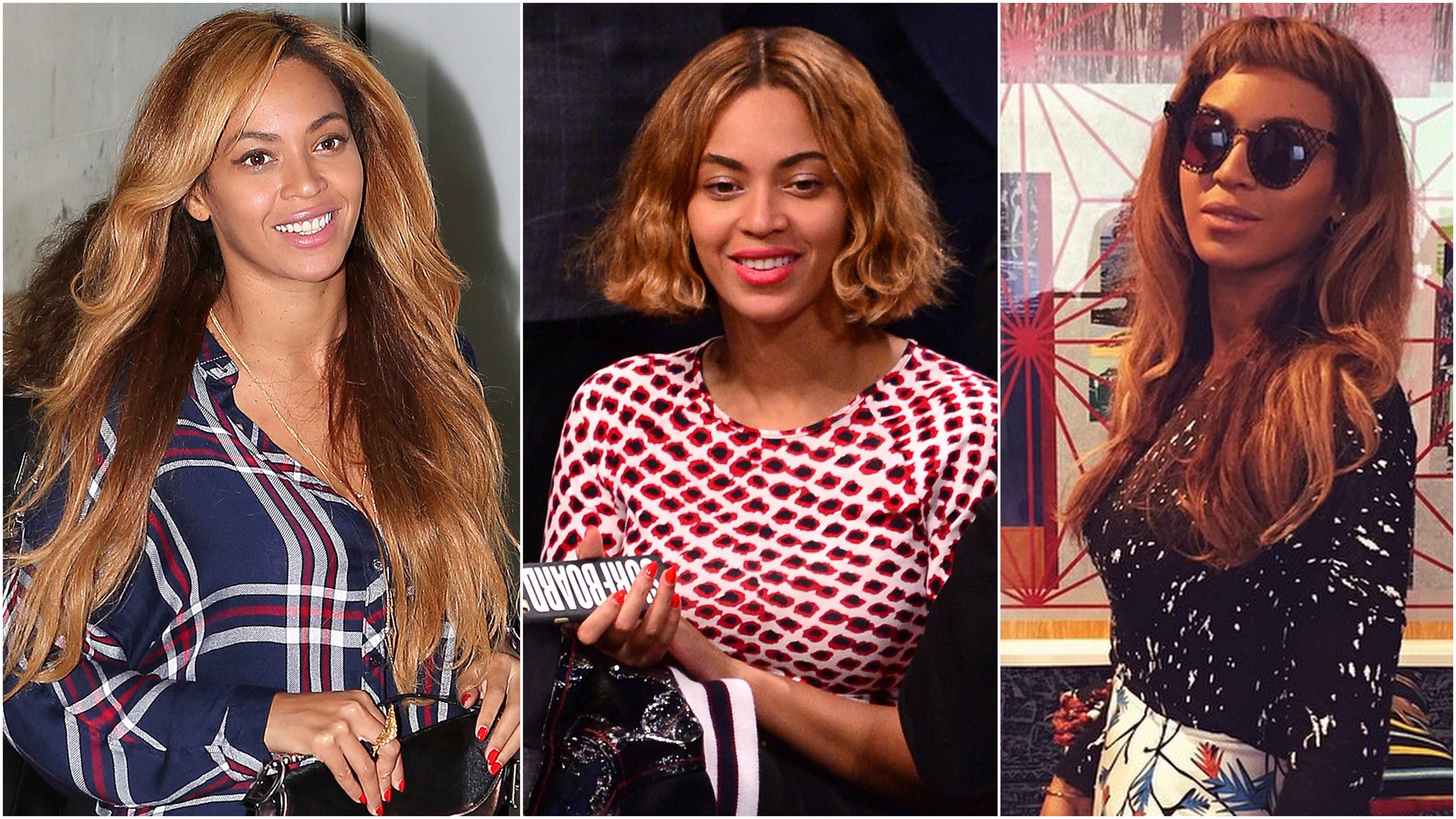 Vlasové premeny krásnej Beyoncé  Na jeseň stavila na trendy boba! f64363b10e4